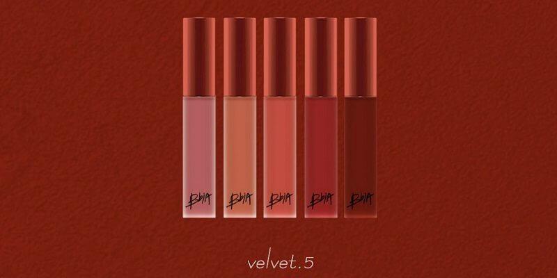 Bảng màu Bbia Last Velvet Lip Tint