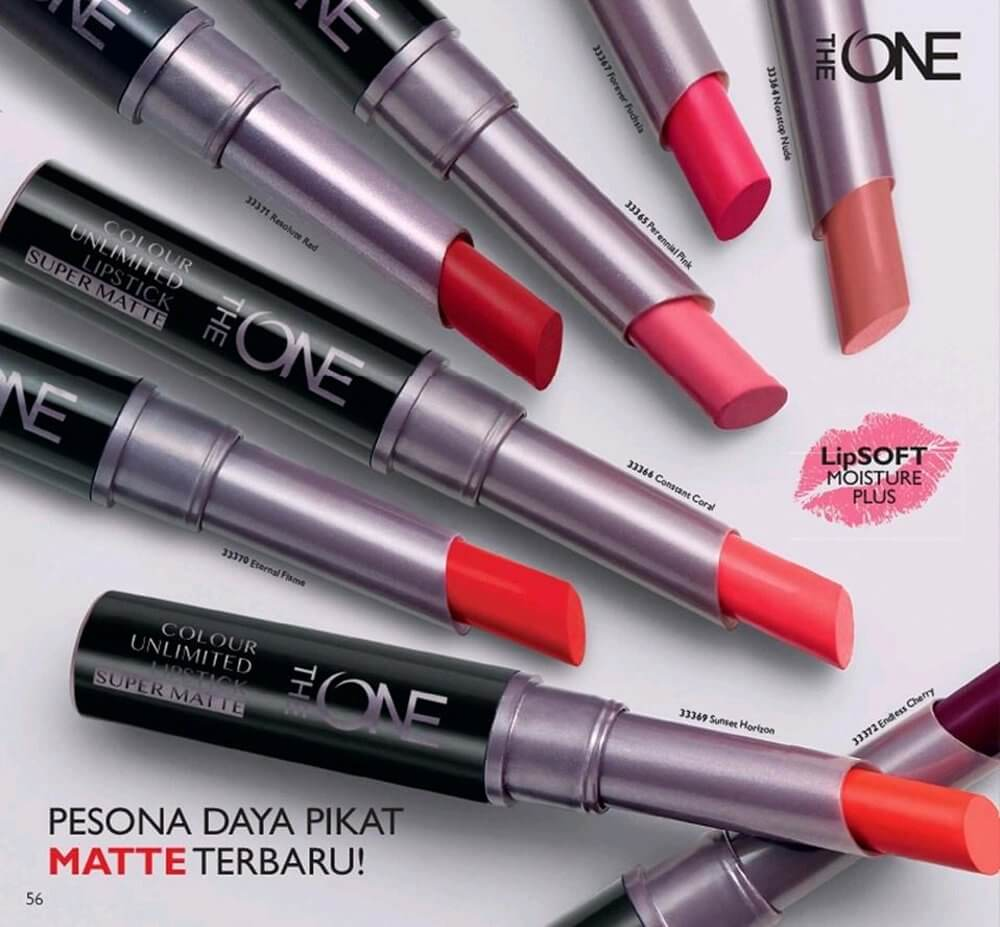 Son lì The ONE Colour Unlimited Lipstick Super Matte