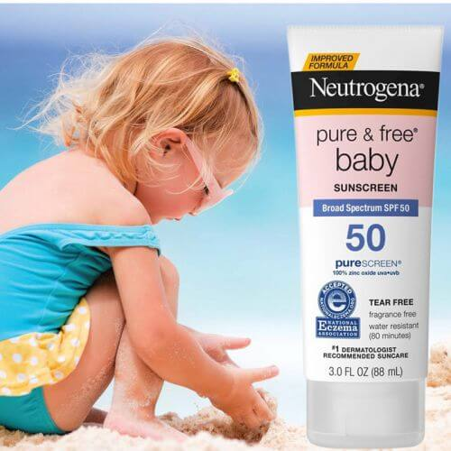Kem Chống Nắng Neutrogena Pure And Free Baby SPF 50 (2)