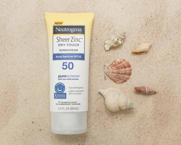 Kem chống nắng Neutrogena Sheer ZinC Dry Touch SPF 50