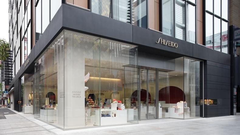 Showroom Shiseido (Nguồn hình: Savvy Tokyo)