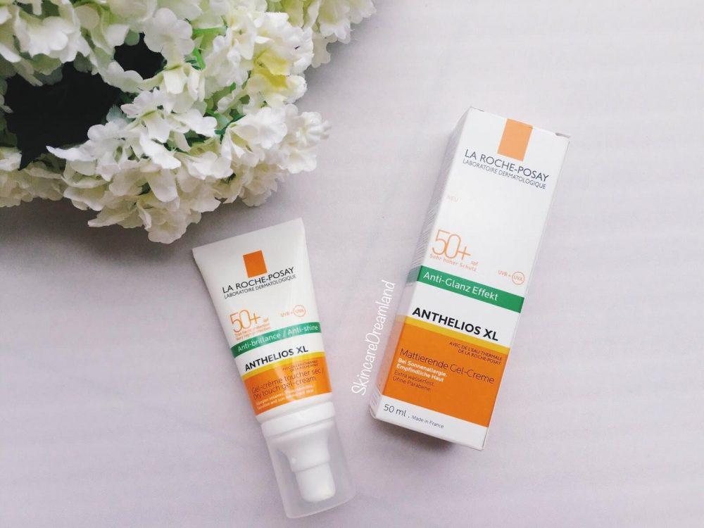 Kem chống nắng cho da dầu mụn Anthelios XL Anti Shine Dry Touch Gel-Cream