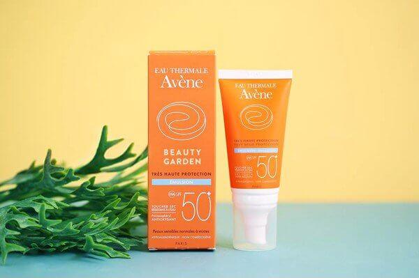 Avene Very High Protection Emulsion.