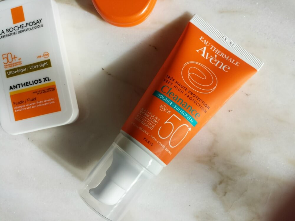 Avene Very High Protection Cleanance Sunscreen SPF50+.