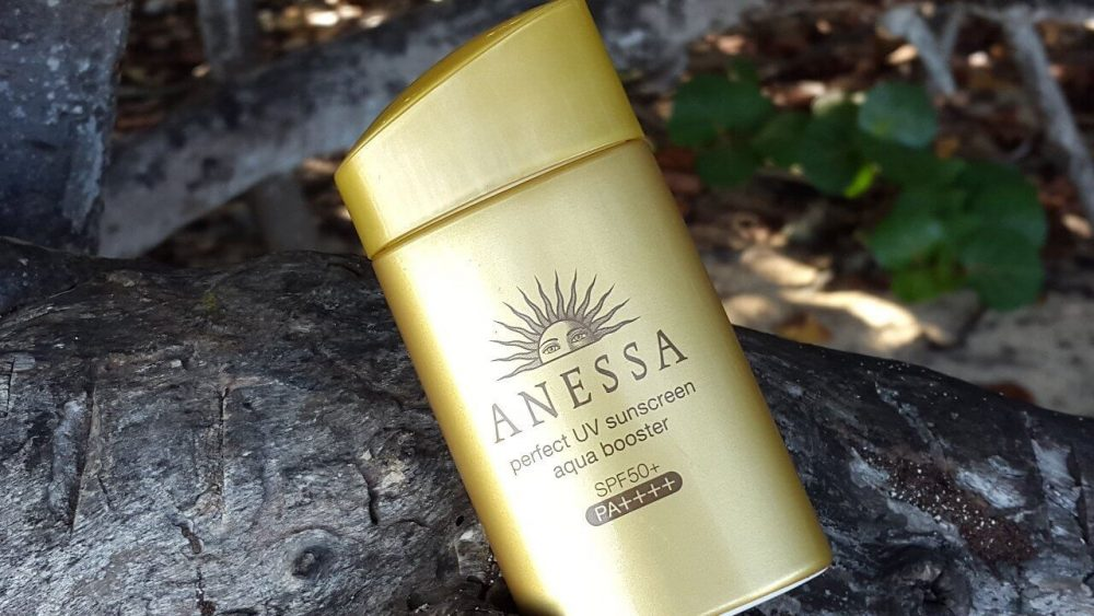 Kem chống nắng ANESSA Perfect UV suncreen aqua booster SPF 50+ PA++++(màu vàng đồng).