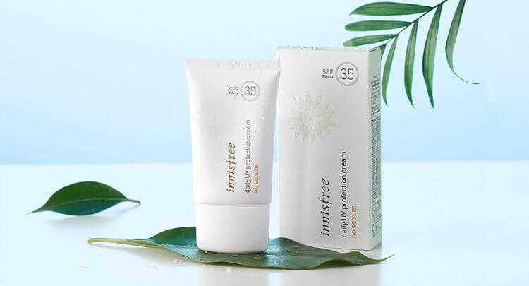 Innisfree Daily Uv Protection Cream No-Sebum