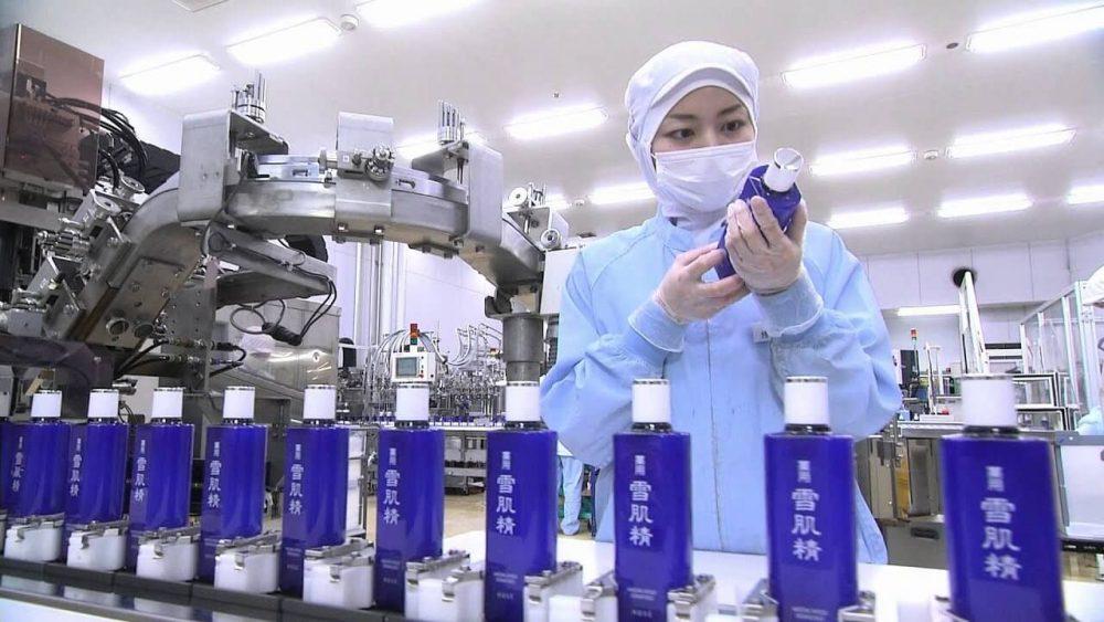 Hệ Thống sản xuất mỹ phẩm Kosé