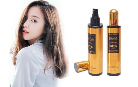Liyang No5 Xịt dưỡng tóc Nước Hoa Liyang No5