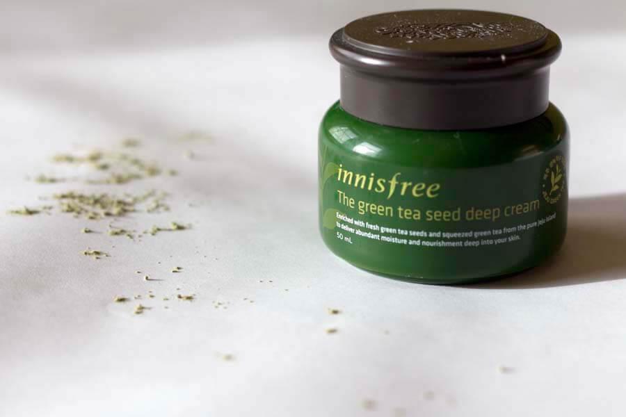 Innisfree The Green Tea Seed Deep Cream.