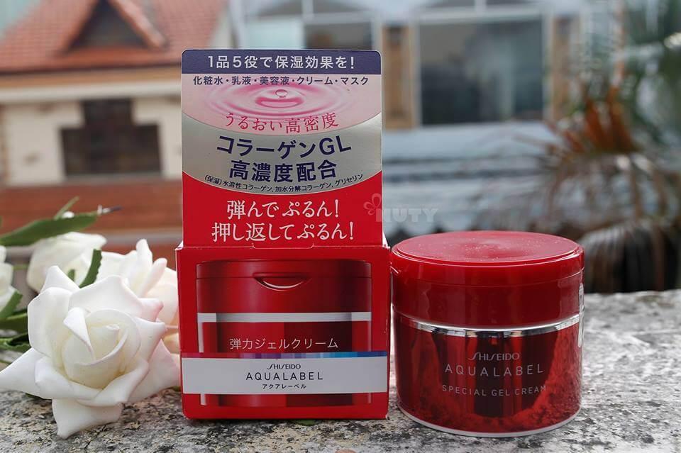 Shiseido Aqualabel Special Gel Cream