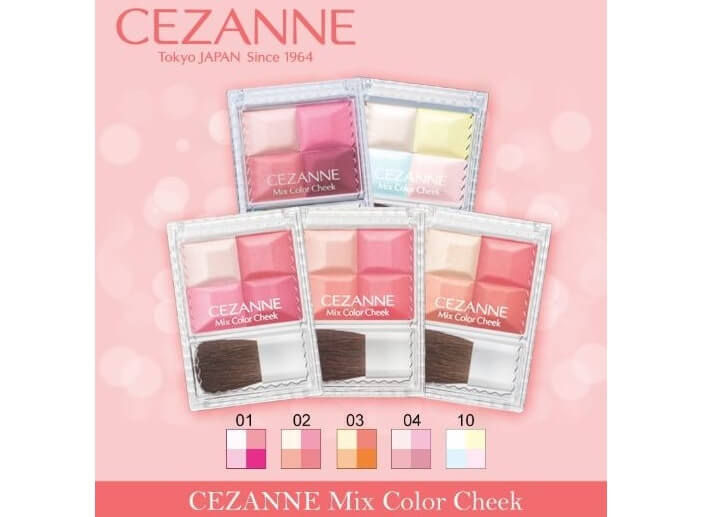Phấn Mix Color Cheek Cezanne