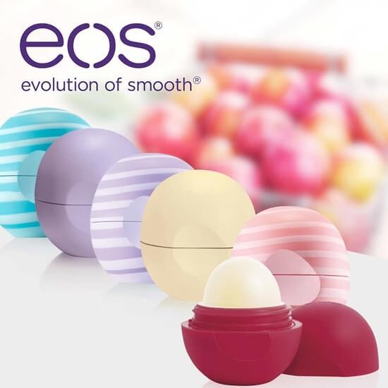 Son trứng dưỡng môi EOS Lip Balm.