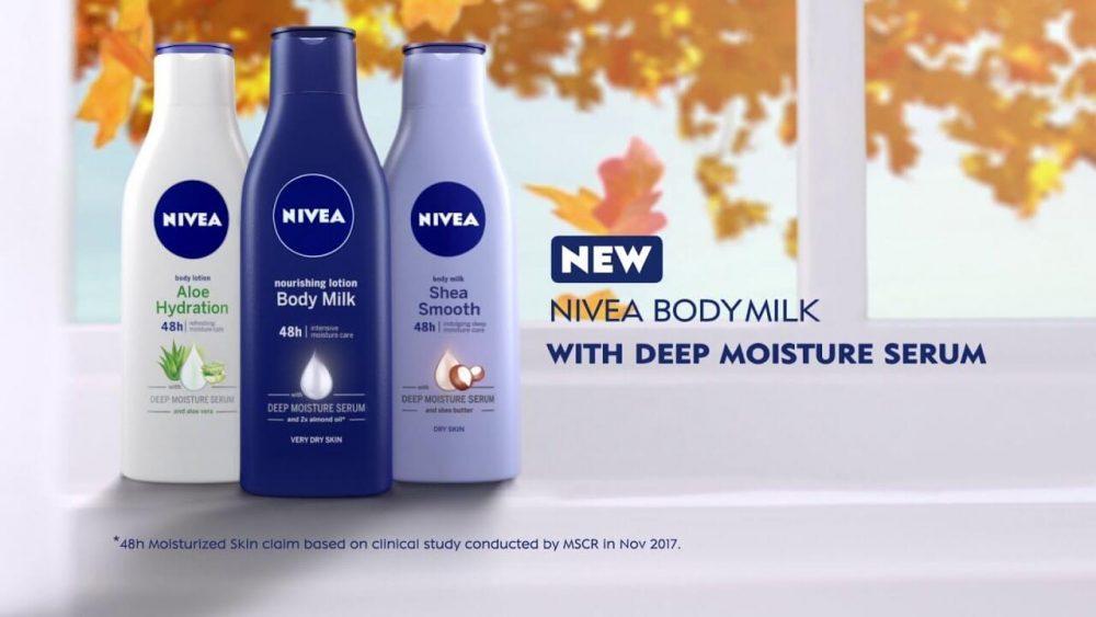 Giới thiệu sản phẩm của Nivea