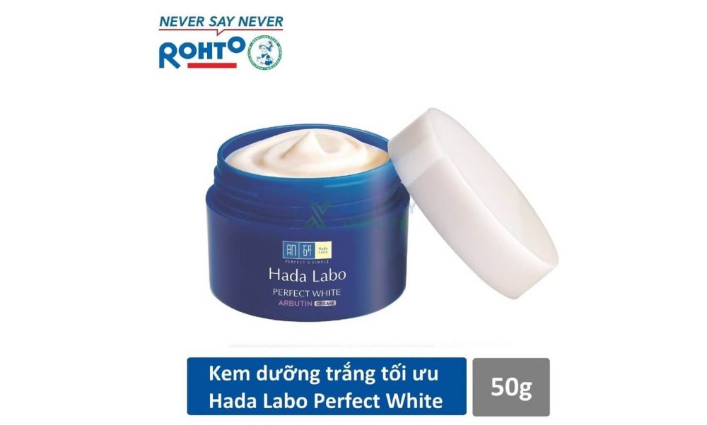 Kem dưỡng da Hada Labo Perfect White Arbutin Cream