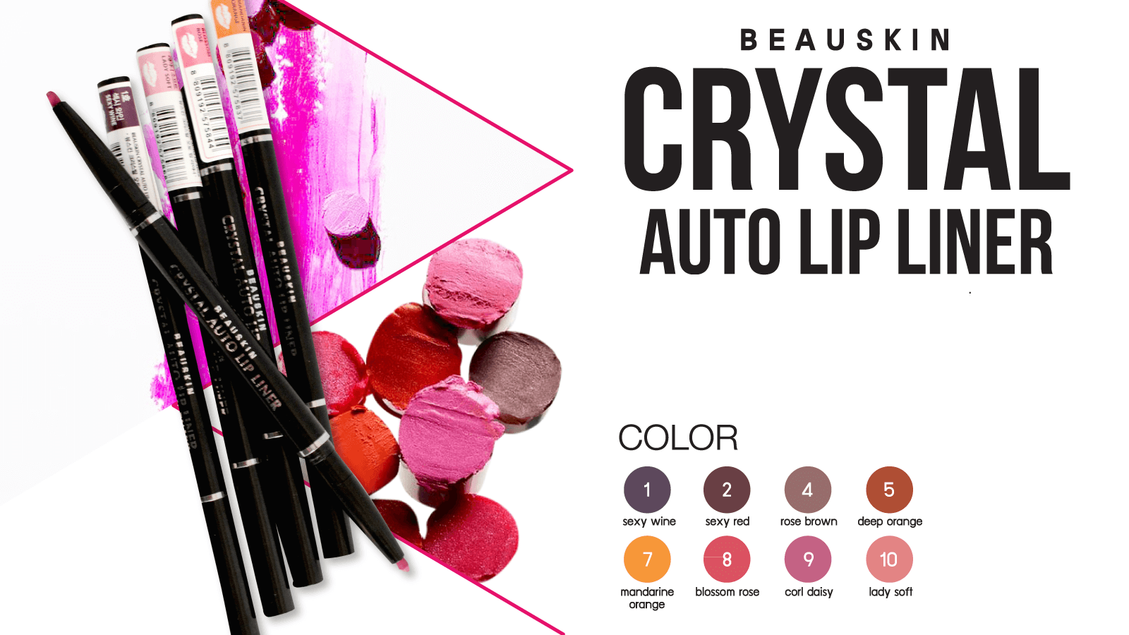 Beauskin Crystal Auto Lip Liner.