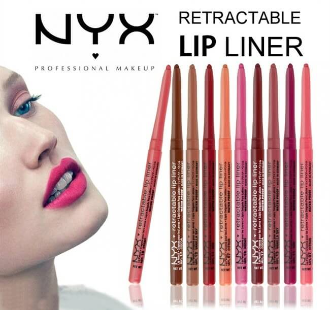 Chì kẻ môi NYX Retractable Lip Liner