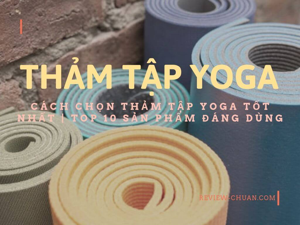 review thảm tập yoga cao cấp