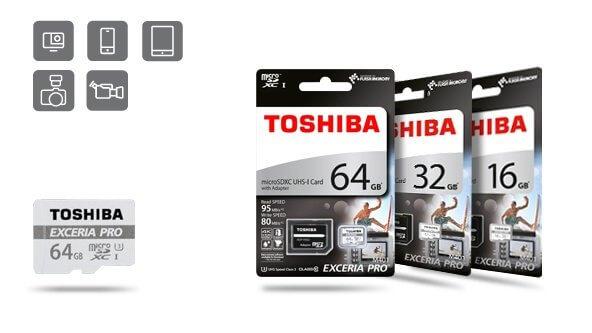 Toshiba Exceria Pro 16Gb