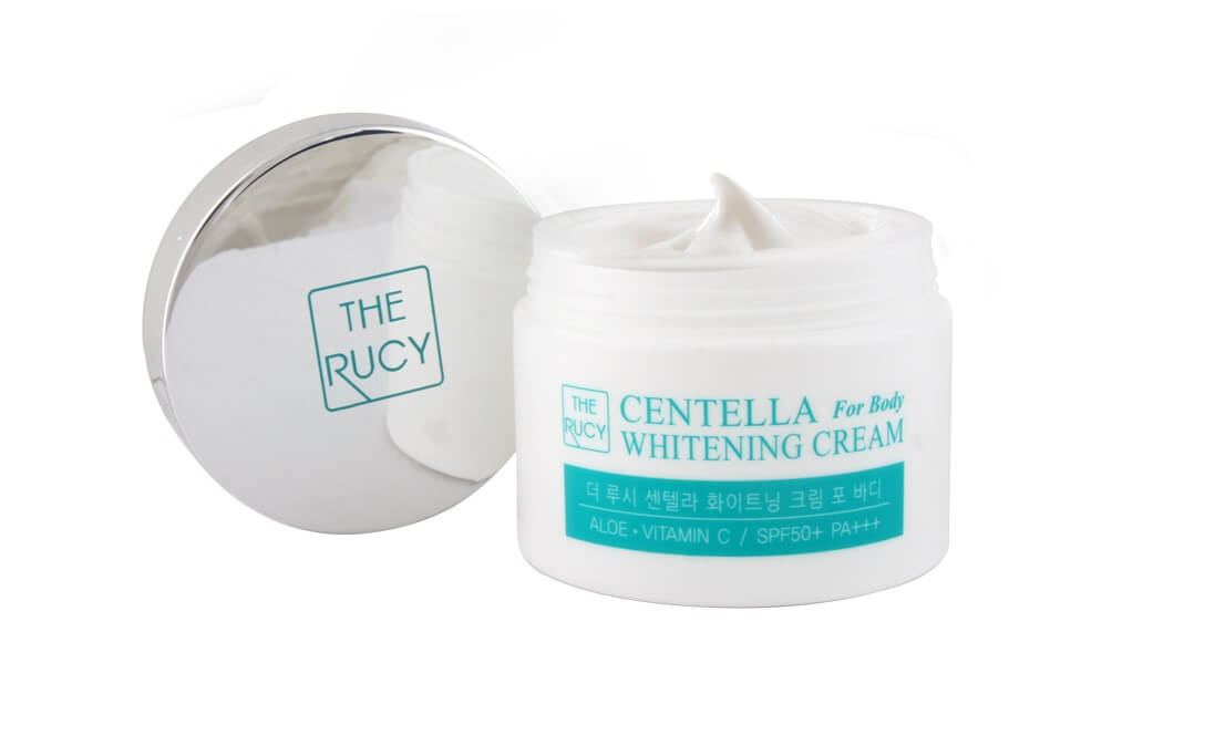 The Rucy Centella Whitening Cream For Body SPF50+