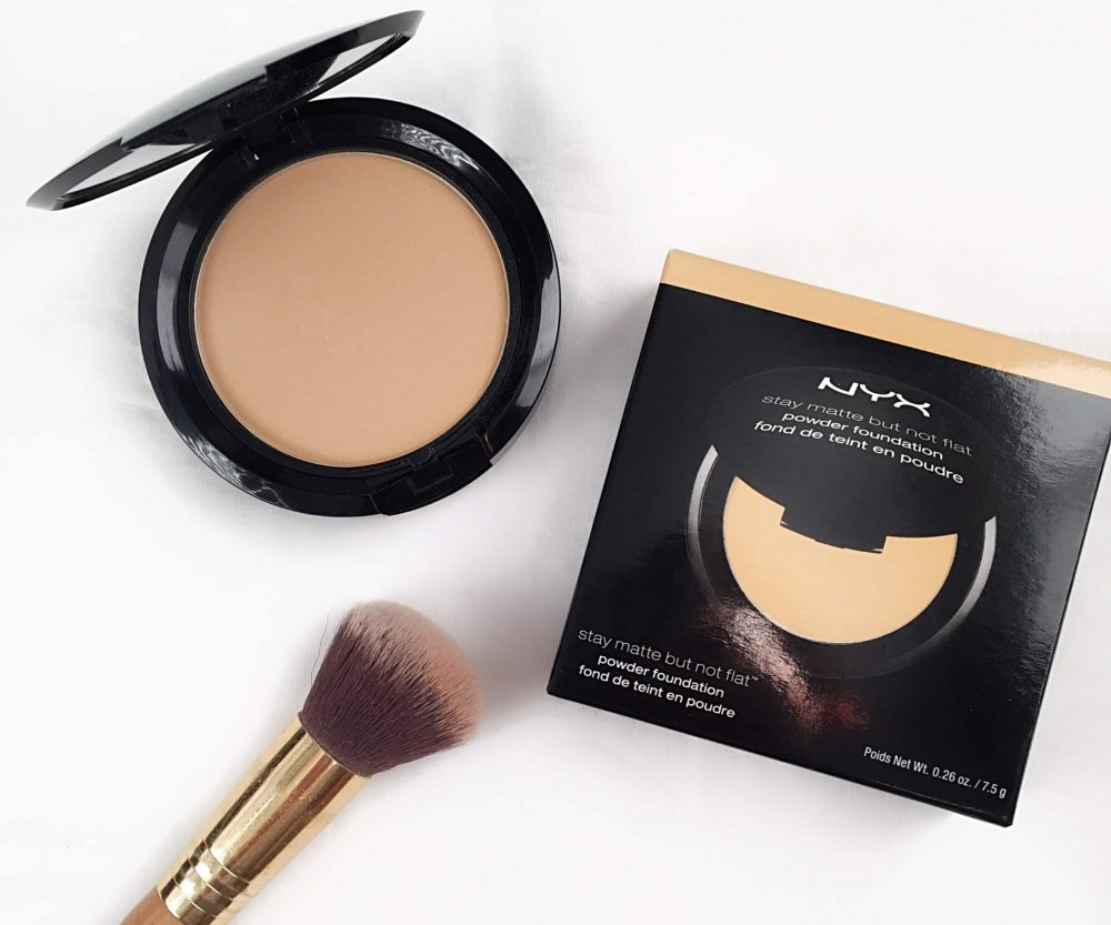 NYX Professional Makeup Stay Matte But Not Flat Powder Foundation.