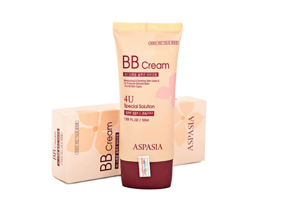 Aspasia Kem Nền Aspasia 4U Special B.B Solution Cream SPF50 PA+++ (50ml)