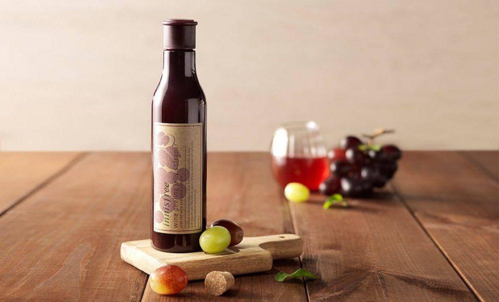 Tẩy tế bào chết - Innisfree Wine Peeling Jelly Softener