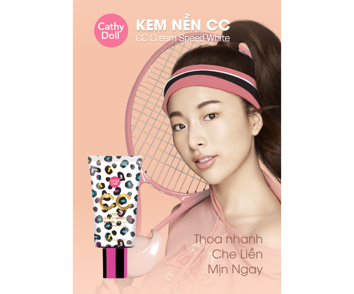 Kem Cathydoll CC Cream Speed White SPF50+++