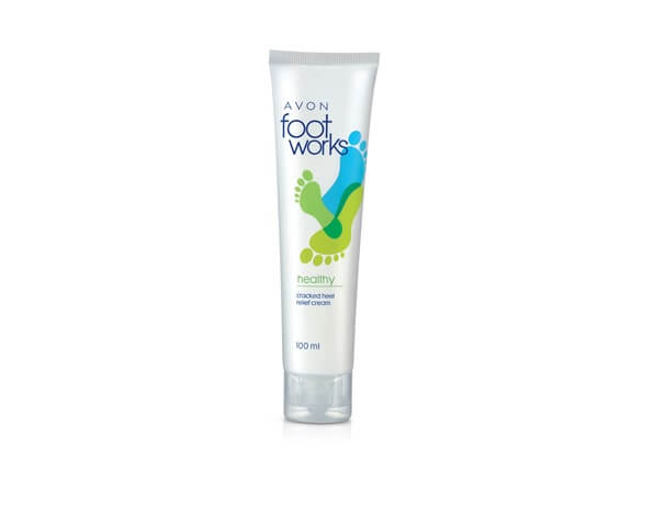 Avon Foot Works Cracked Heel Relief Cream 100ml.