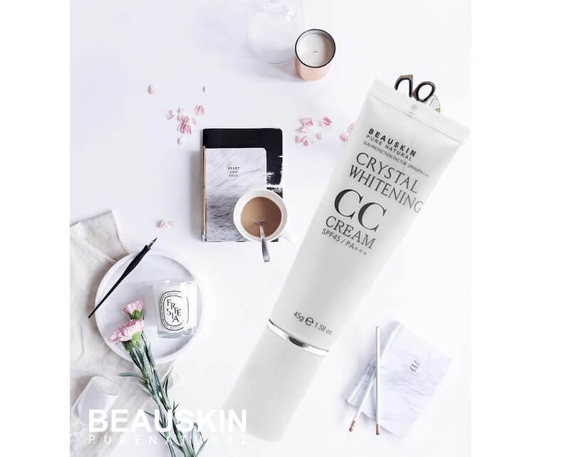 Beauskin Crystal Whitening CC Cream SPF45 PA+++ 45ml