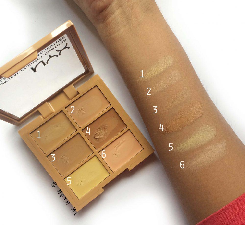 NYX Professional Makeup Conceal Correct Contour Palette