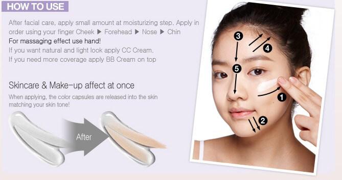 Cách dùng CC cream