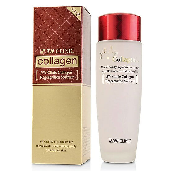 3W Clinic Collagen Regeneration Softener (150mL)