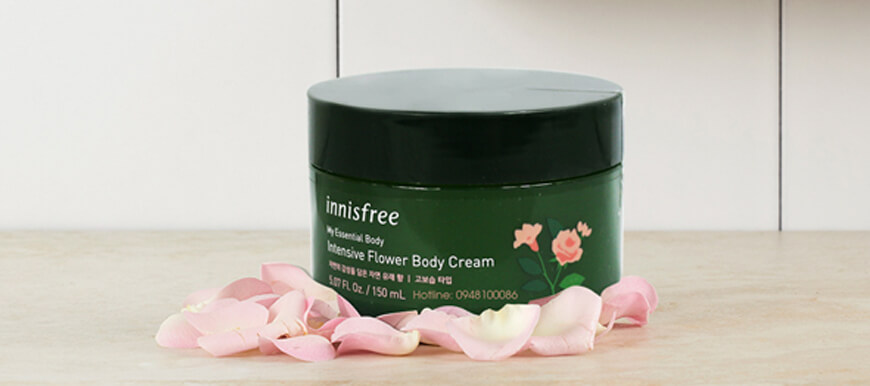 Innisfree My Essential Intensive Flower Body Cream (150ml)