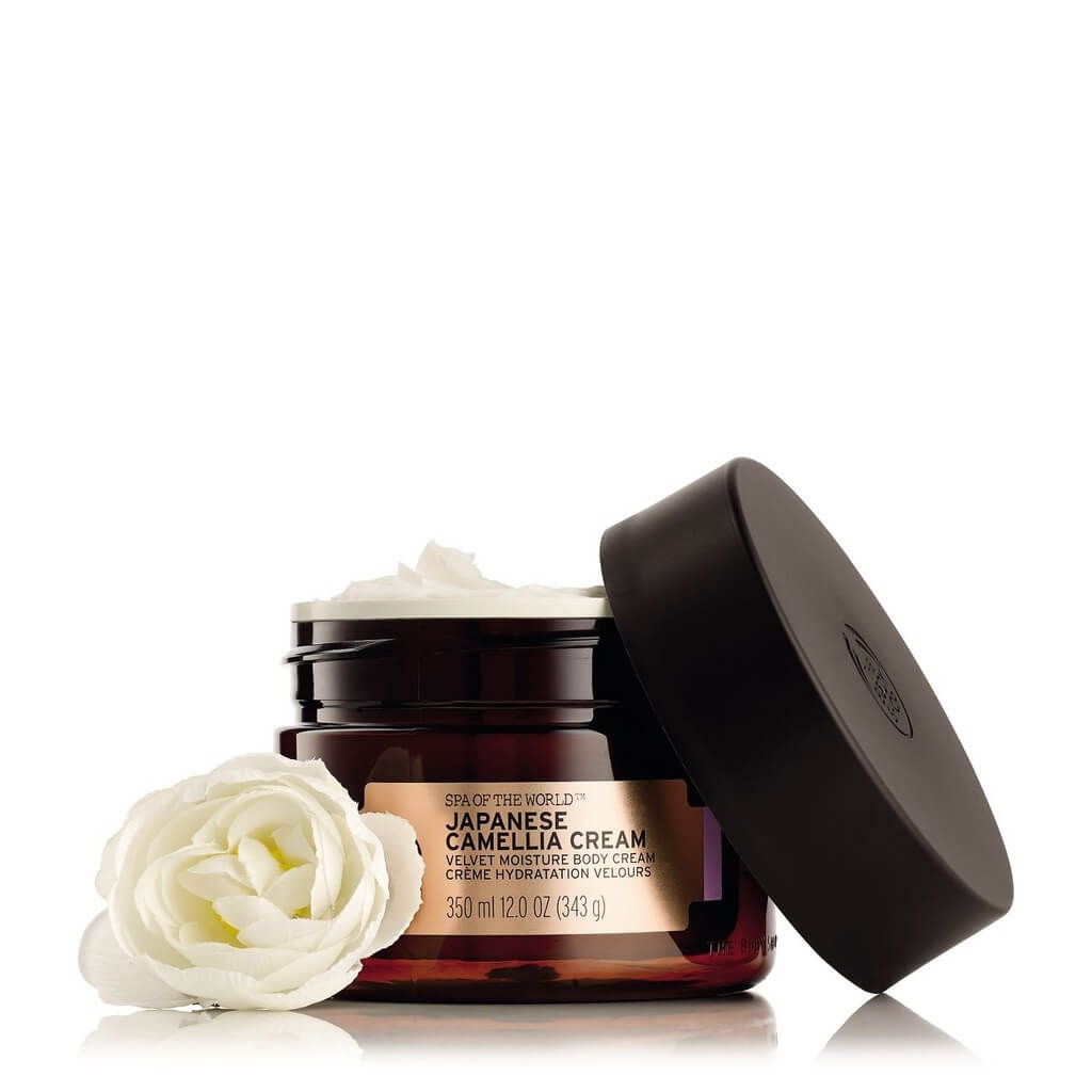 The Body Shop Spa of the World Japanese Camellia Body Cream (350ml)