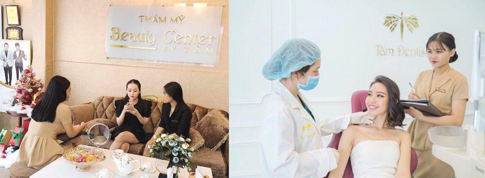 tham my vien Beauty Center by Tâm co doi ngu bac sy co kinh nghiem lau nam dac biet trong linh vuc tham my mat