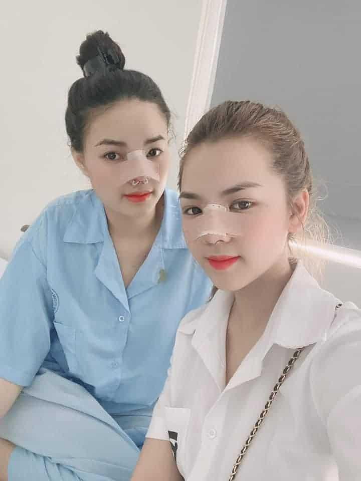 Khách hàng nâng mũi tại Dr Ngọc Trung