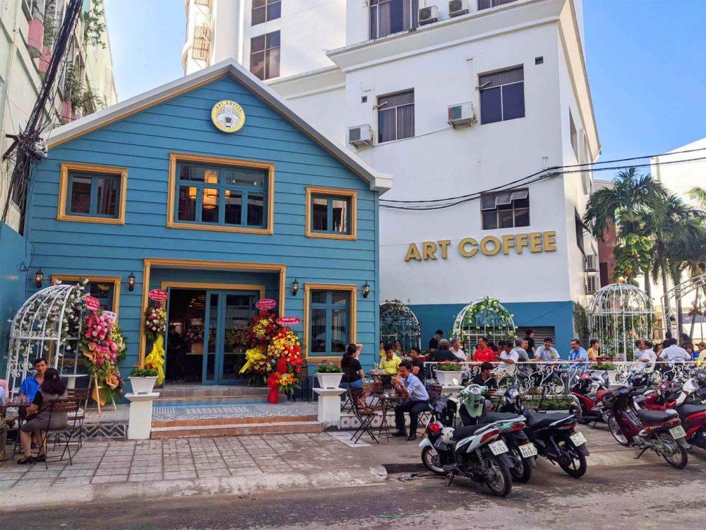 Art Coffee Nhà hàng + Quán cafe đẹp tại Long Xuyên