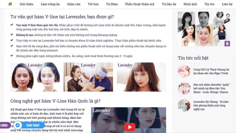 hinh anh webiste lavenderbychangcom