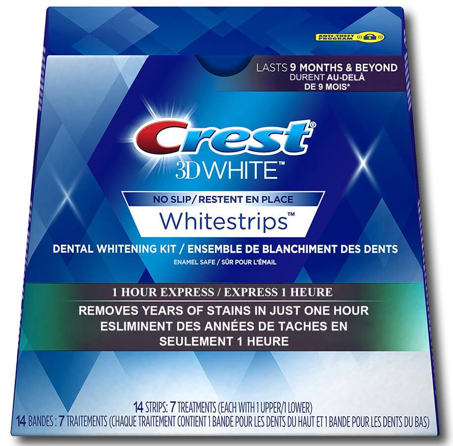 mieng dan trang rang Crest 3d White sieu toc trong 1h